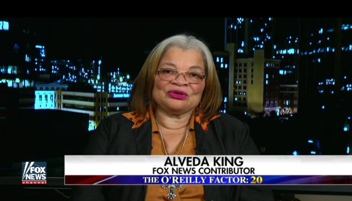 "MLK's Neice, Alveda King: ""FAKE NEWS"" Is Why People Believe President Trump Is Racist"