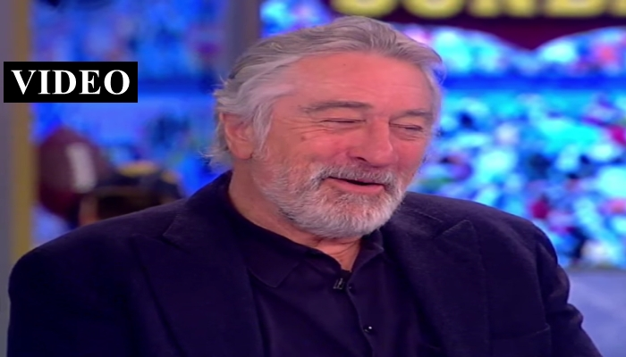"""Robert De Niro on President Trump: """"Of Course I Want to Punch Him in the Face"""""""