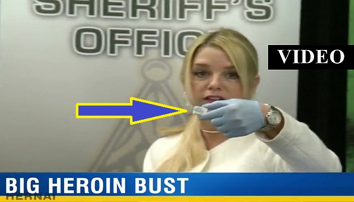 Drug Bust Reveals THOUSANDS of Heroin Packs, The Face On Them Is The REAL Story