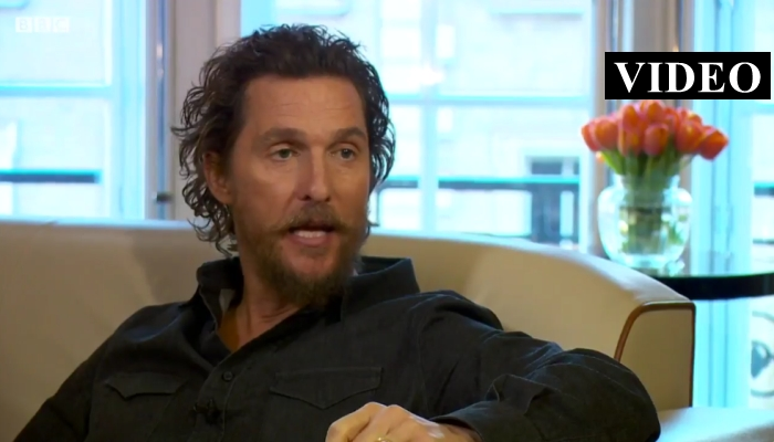 "Matthew McConaughey: ""Time To Embrace, Trump Is Our President Now"" [VIDEO]"