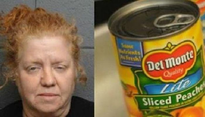 Police Find Unexpected Surprise In Woman's Can Of Peaches, Issue Warning To Public