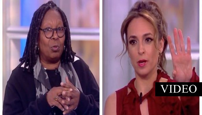 "Whoopi's Latest Anti-Trump Rant Is So RIDICULOUS, ""View"" Co-Hosts Couldn't Swallow It [VIDEO]"