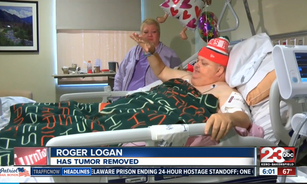 Man Misdiagnosed For YEARS Has 130lb Tumor Removed [WATCH]