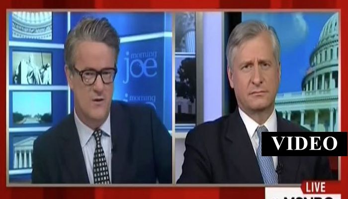 "MSNBC Host Joe Scarborough Says President Trump ""WENT FULL MUSSOLINI"""