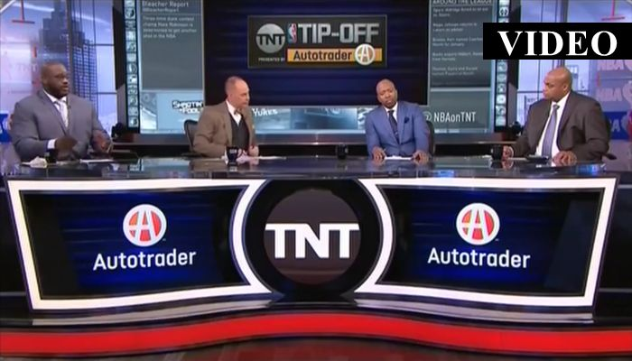"""""""I Would've Punched You In Your Face"""": Shaq and Barkley Go At It On TNT"""
