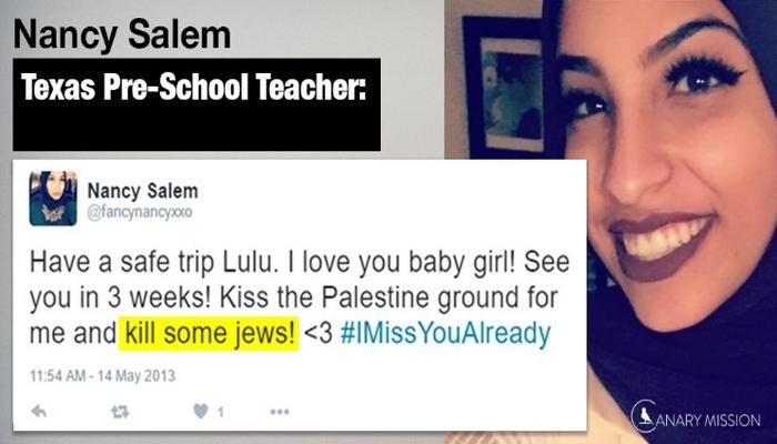 """Texas Pre-School Teacher FIRED After Tweeting """"KILL SOME JEWS!"""""""