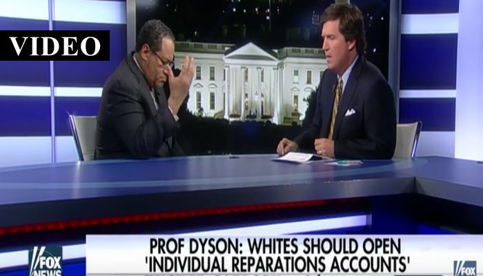Tucker SLAMS Georgetown Professor Who Is DEMANDING Reparations [VIDEO]