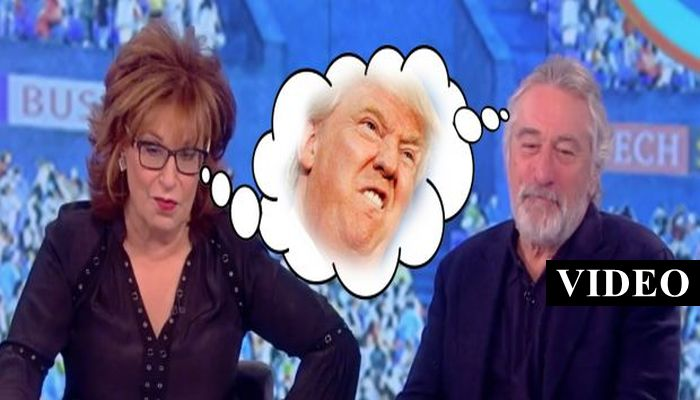 De Niro Stands By His Violent Anti-Trump Fantasy, Then Whoopi Said This… [VIDEO]
