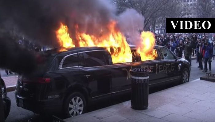 214 Leftist Protesters Indicted For Inauguration Day Riots, Facing 10 Years In Prison