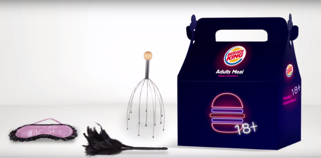 Burger King Is Celebrating Valentines Day In A Very NSFW Way [WATCH]