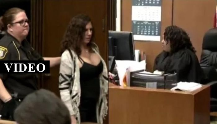 Woman Laughs As Judge Hands Down Sentence, She's NOT Laughing Now