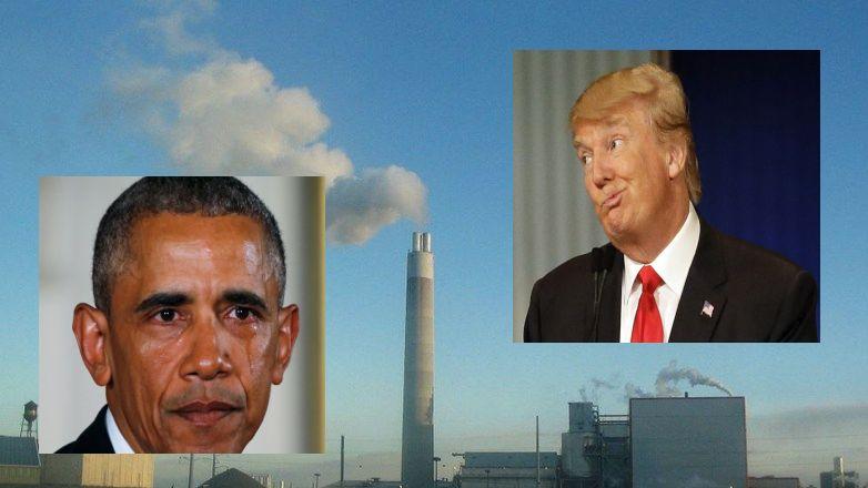 President Trump Signs Executive Orders, Undoing Obama's Job-Killing EPA Policies