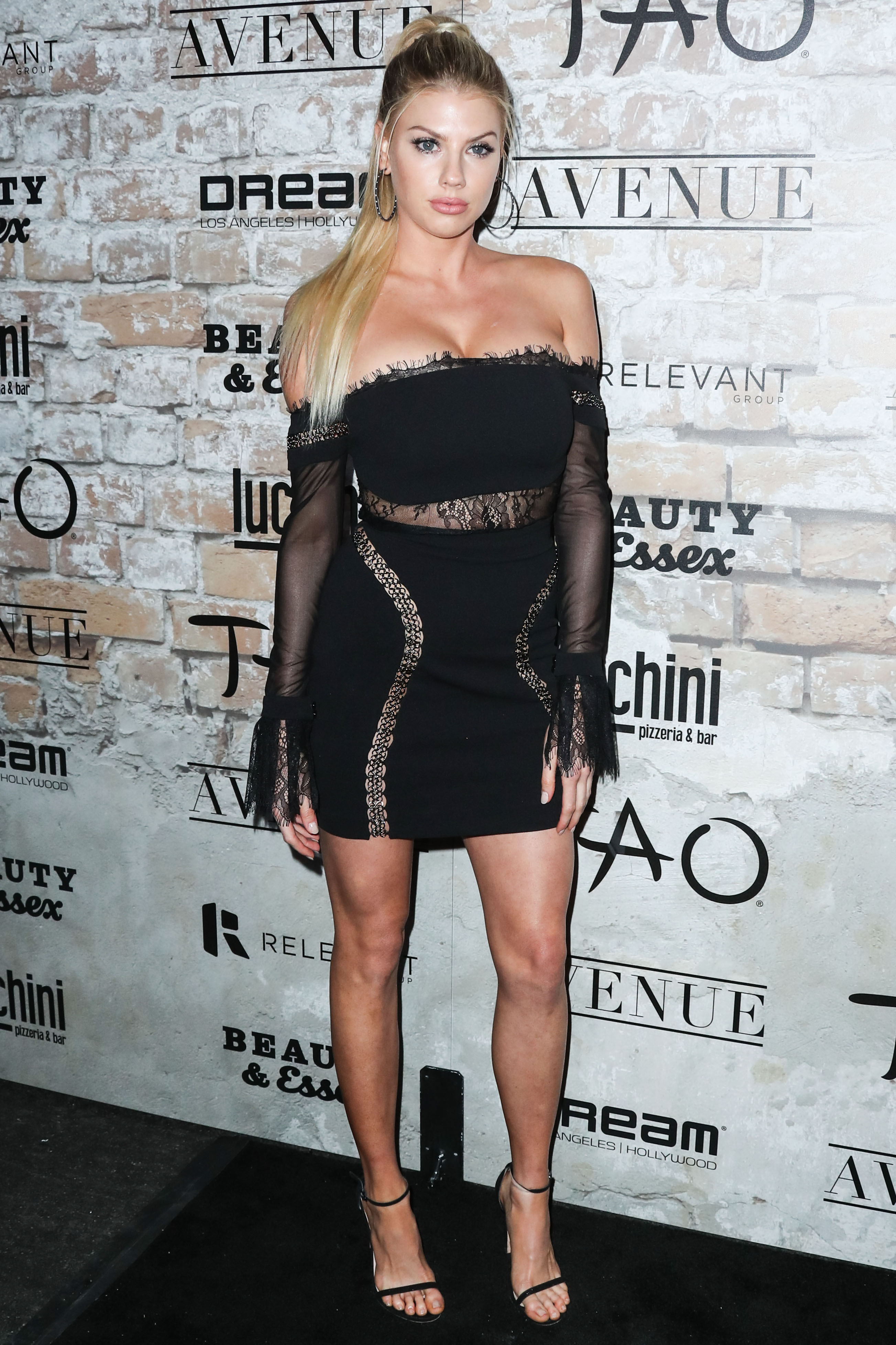 Charlotte McKinney arrives at the TAO, Beauty & Essex, Avenue and Luchini LA Grand Opening