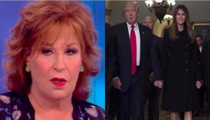 View Host Joy Behar Taking HEAT For Comments About Melania And President Trump