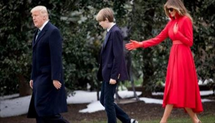 It Was Difficult To Miss What Was Different About Barron Trump Over The Weekend
