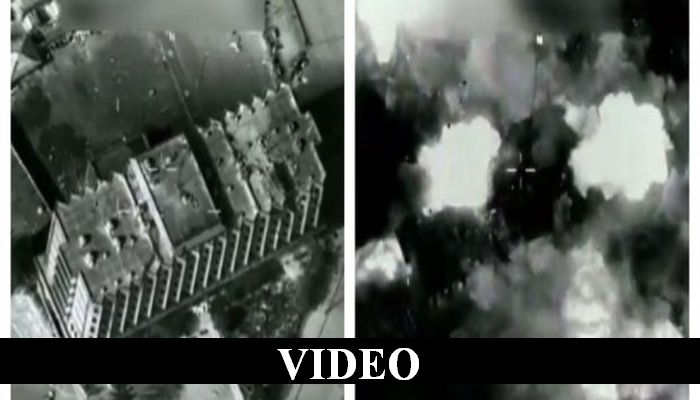 U.S. Air Force's B-52 Bomber Vs. ISIS Stronghold — Guess Who Wins!