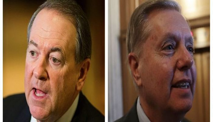 Is Lindsey Graham Gay? Mike Huckabee Tells Laura Ingraham…