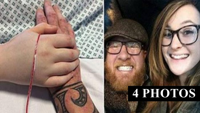 Heartbroken Dad Shares Photos Of Daughter's Final Moments So People Know The Truth
