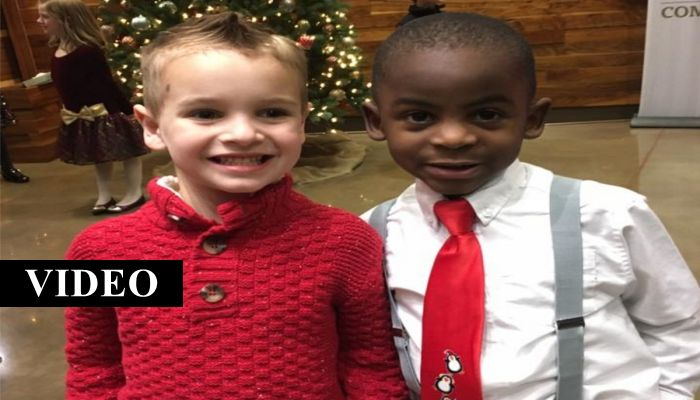 Look Closer And You'll See Why This 5-Year-Old Boy's Photo Has Gone Viral