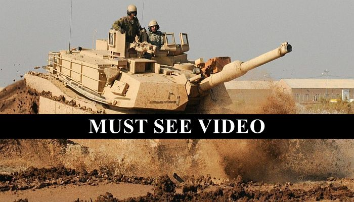 Here's What It Looks Like When An American Tank Scores A Direct Hit On ISIS