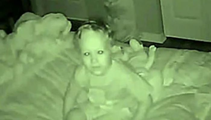 Toddler Tells His Parents He Sees A Stranger Every Night, Then They Setup A Camera