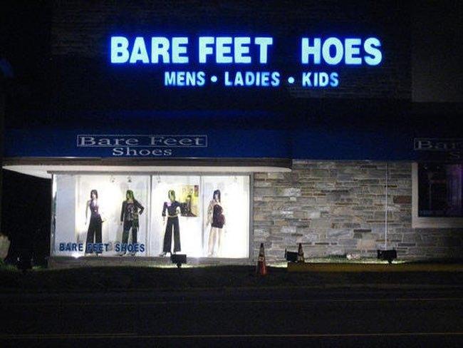 bare-feet