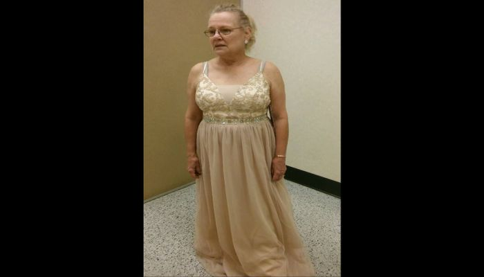 Grandma Gets Devastating News While In Her New Dress, Her Photo Goes Viral