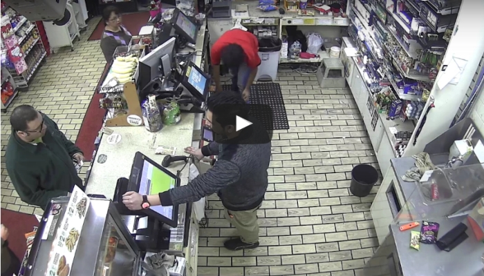 Man Goes Completely Nuts on Clerk After His Card Is Declined For M&M's