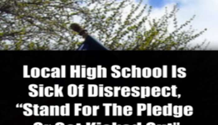 School Has Had Enough Of Disrespect Towards Flag, Makes Announcement That Is LOUD and CLEAR