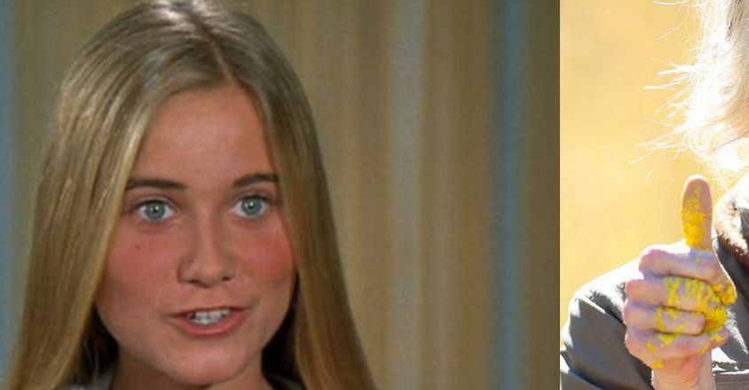 Just Say NO: Here Is What Marcia Brady Looks Like NOW, After YEARS Of Drug Abuse
