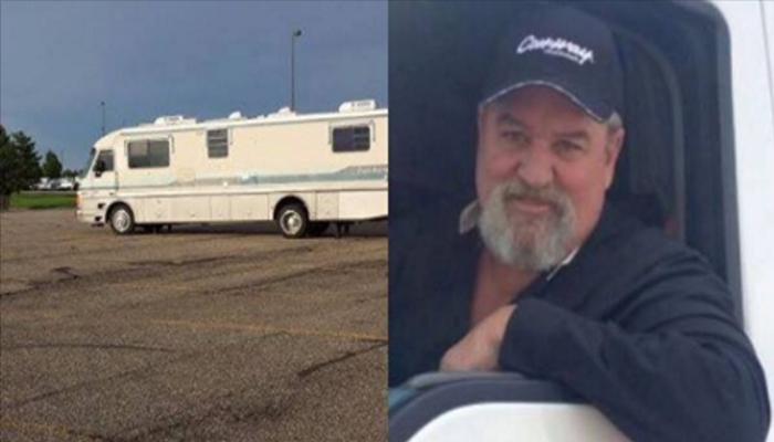 Truck Driver Notices RV With Black Curtains, What He Discovers Has Him Calling 911