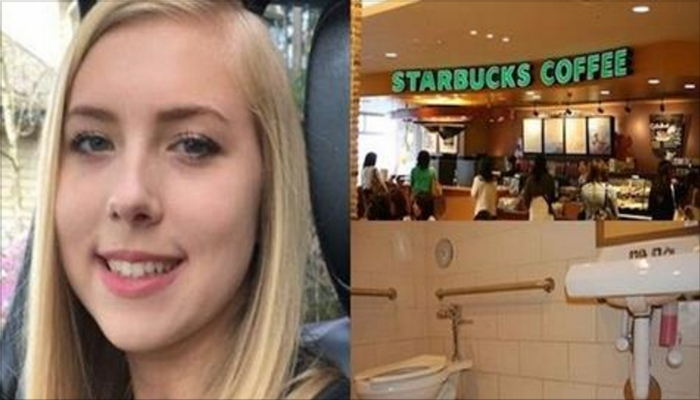 Teen Girl Is Found Unresponsive In Starbucks Bathroom, Then People See What's Beside Her