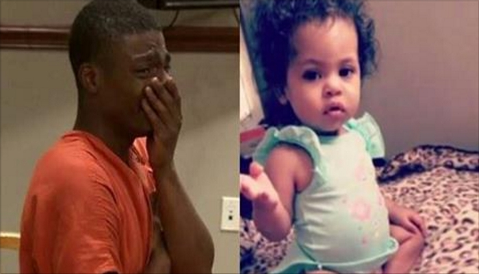 Worthless Thug Who Murdered His Daughter Cries For One Person In Court