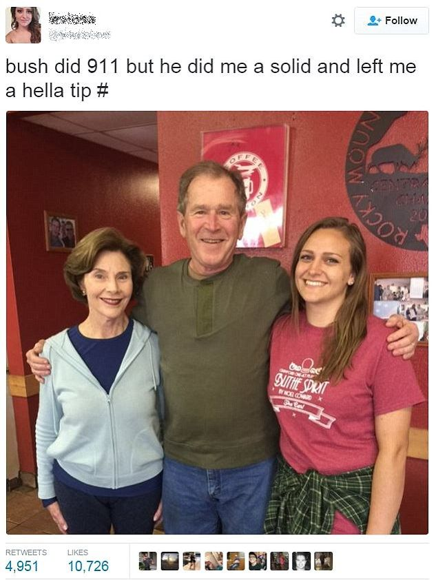 waitress-tweet-bush
