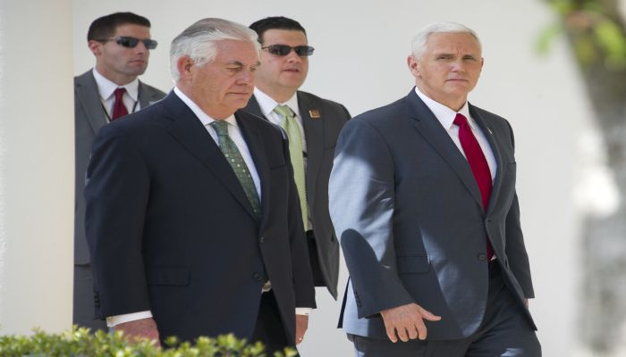 Vice President Pence's Security Detail Caught In One Of The Worst Scenarios