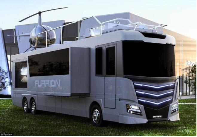 $2.5 Million RV Has Its Own Helicopter, But That's Just Scratching The Surface [PHOTOS]