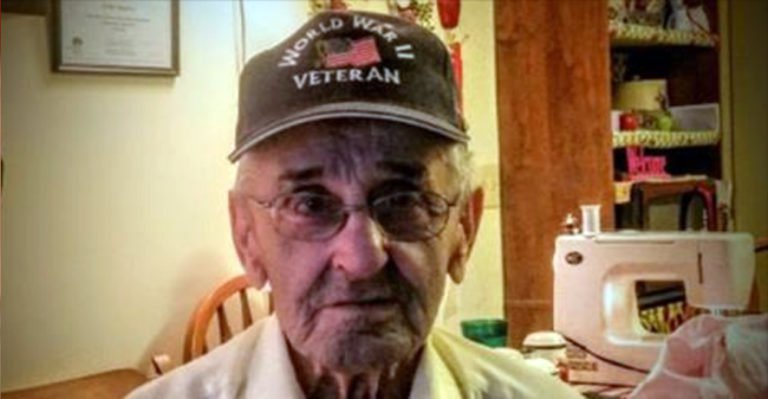 WWII Vet Has Shocking Encounter At Store That Is Quickly Catching People's Attention