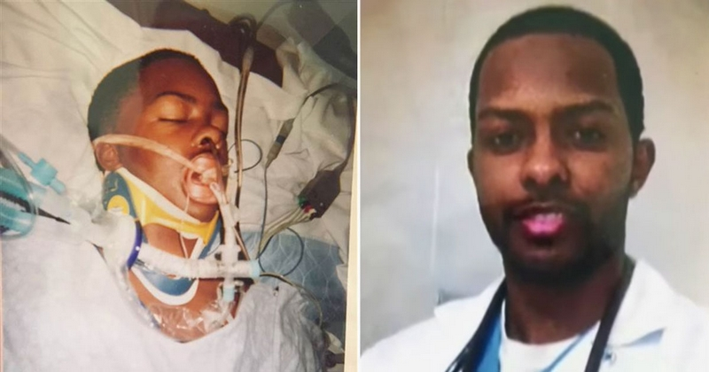 Hospital saves man's life after he's shot. 9 years later, he becomes doctor at same hospital