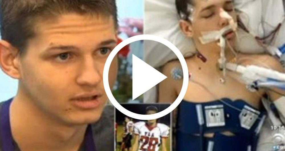 This Teen Was Dead For 20 Minutes. Who He Met In 'Heaven' Is Giving People Chills [WATCH]