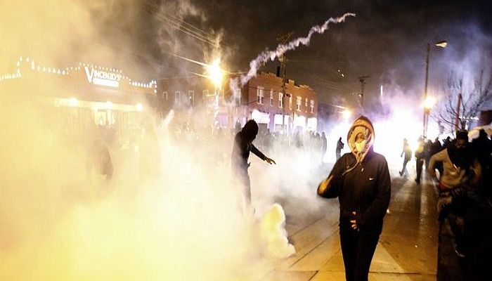 BUMMER! Ferguson Protester In Famous Photo Found Dead After Shooting Himself