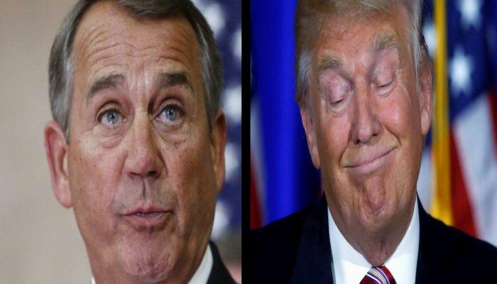 """Crybaby Boehner: Vast Majority Of Trump's Presidency Is A """"Complete Disaster"""""""