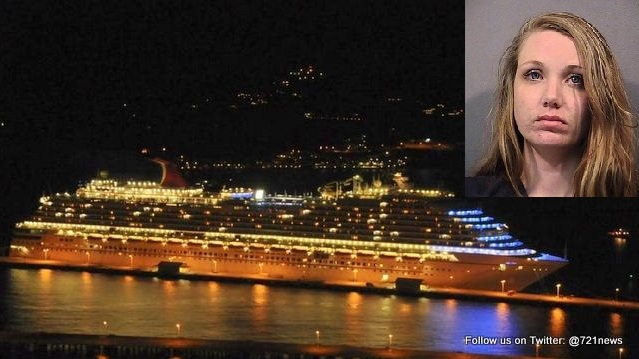Woman Gets Slapped On The Wrist After Giving Birth, Stuffing Baby Under Cruise Ship Bed