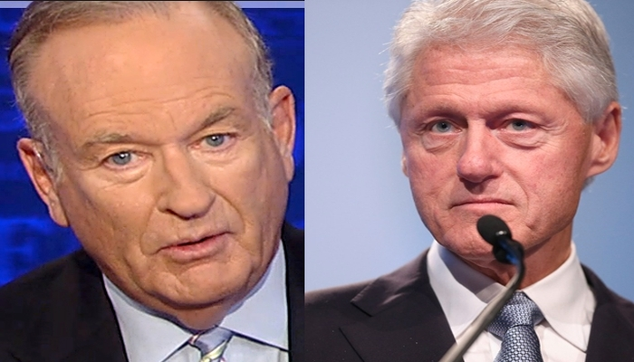 If Bill O'Reilly Is A Sexual Harasser, What The Hell Is Bill Clinton?