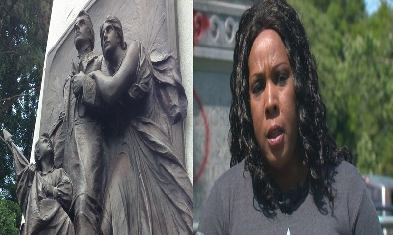 Black Woman's reason to fight to keep Confederate monument in St. Louis Park [video]