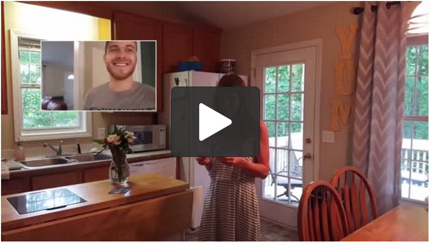 He Had A Vasectomy But Learns Wife Is Pregnant, Writes Her A Card To Surprise Her [VIDEO]