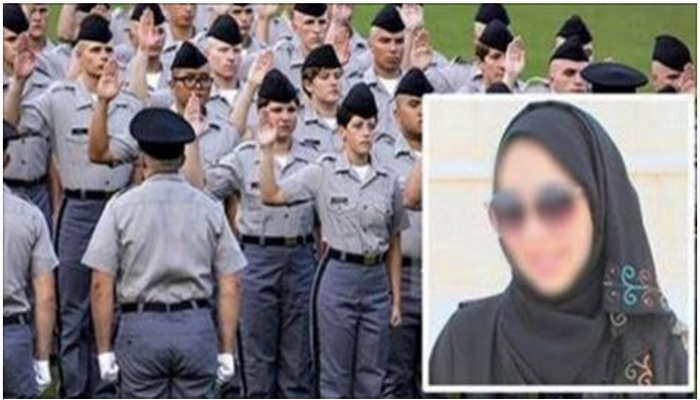 Military College Responds In Surprising Fashion After Cadet Refuses To Remove Hijab