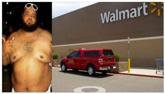 Obese Man Kept Coming To Walmart Everyday, Now Employees Know Why [PHOTOS]