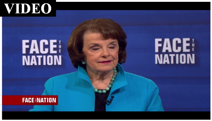 "Half Past Dead Diane Feinstein Tells President Trump: ""STOP THE TWEETING!"""