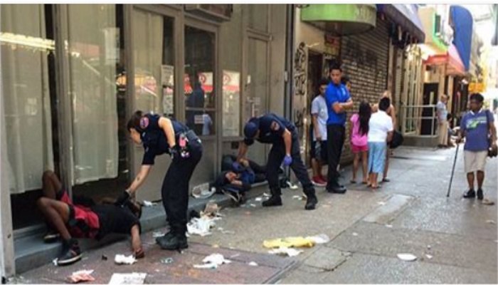 City Officials Reveal Why 22 New Yorkers Collapsed Suddenly And Began Vomiting, Urinating And Twitching [PHOTOS]