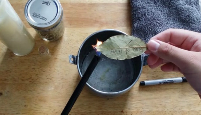 Burn A Bay Leaf At Home And See What Happens In Just 10 MINUTES! [PHOTOS]